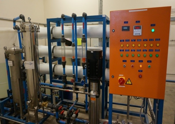 Filtration System RO Membrane and Control System